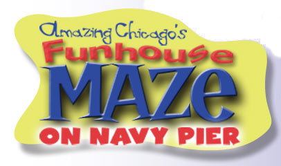 Amazing Chicago's Funhouse Maze - On Navy Pier